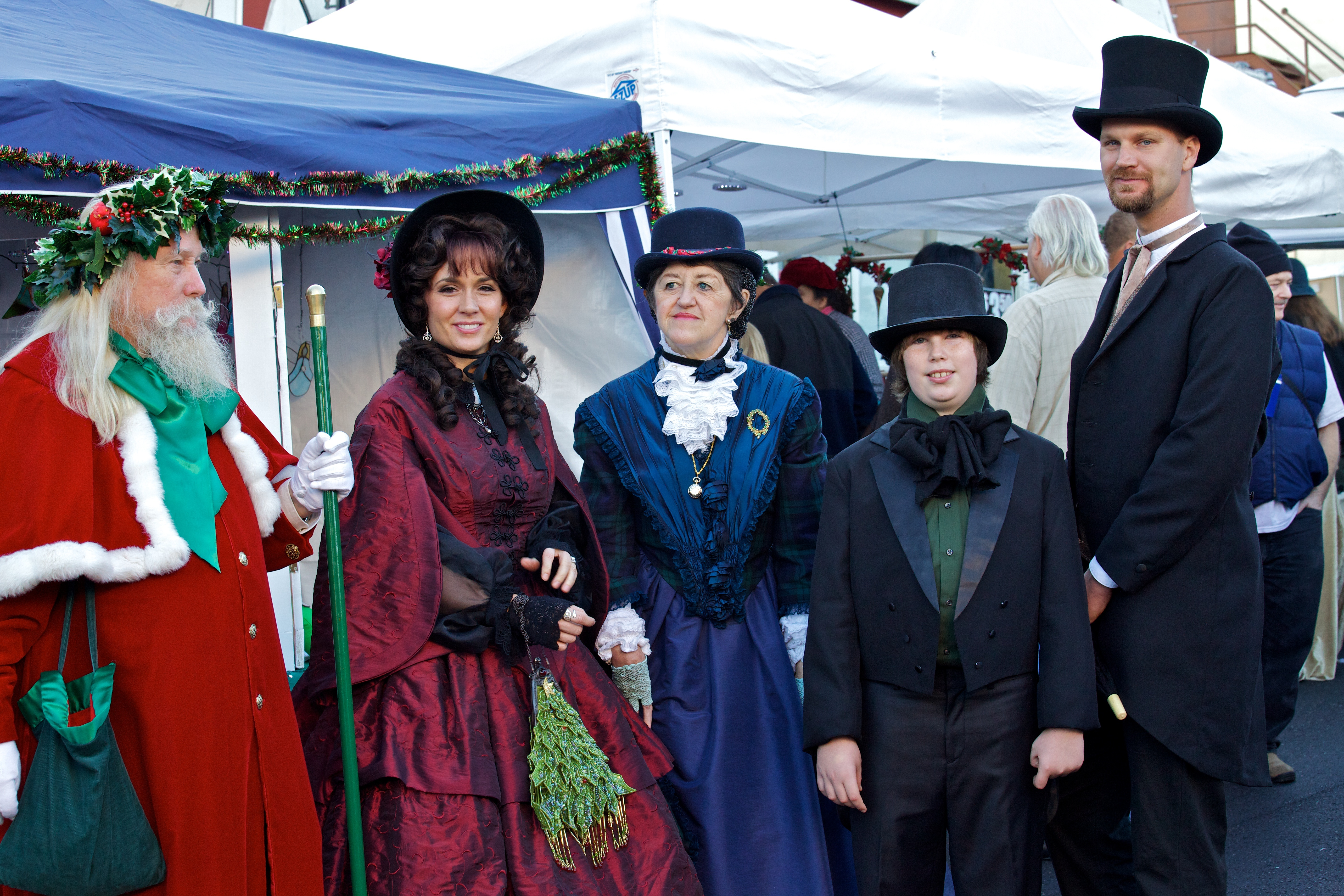 Victorian Christmas: Yuletide cheer in Nevada City : Sierra ...