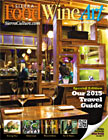 2015 Spring Cover Food Wine Art magazine