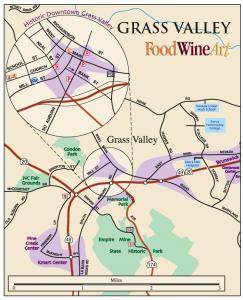 Grass Valley Map