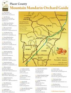 Mountain Mandarin Map and Growers